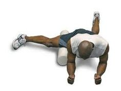 The picture above is a man demonstrating how to foam roll your adductors.  Your adductor muscles run along the inside of your thighs.  If you have tightness and/or trigger points in your adductor region it can present as groin pain, medial thigh pain, medial tibia pain and/or anterior knee pain.  Visit Price Performance Chiropractic's website: www.priceperformancechiro.com