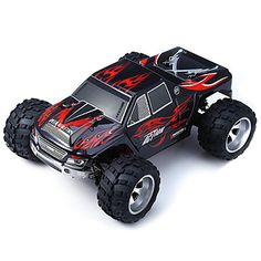 Buggy WLToys A979 4WD 1:18 Brush Electric RC Car 50KM/H 2.4G Blue / Black Ready-To-GoRemote Control Car / Remote Controller/Transmitter / #offroad #hobbies #design #racing #drift #motors #trucks #tech #rc #rccars