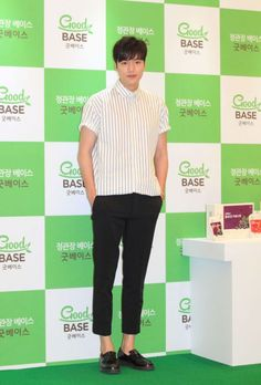 2016 June 29 (Wed) | #ActorLeeMinHo | #LeeMinHo | #Korean #Actor #HallyuStar | #ASIA Most Popular #IDOL |  Fan Sign | #Autograph | #Minoz |  #GoodBase |  #Korea #Ginseng | KGC |  at #LOTTE Dept Store Songpa |  #Health #Berages | with SIX (6) Flavours | #Chokeberry | #Blueberry | #Pomegranate | #Pear Black #Garlic   || P04 of P04 |  (Source: HanCinema |  [http://www.hancinema.net/photos-lee-min-ho-s-boyfriend-look-96177.html?utm_source=dlvr.it&utm_medium=twitter] | Headline || 'boyfriend'…