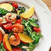 Sałatka z krewetkami Caprese Salad, Potato Salad, Potatoes, Ethnic Recipes, Fit, Shape, Potato