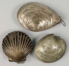 vintage shellfish tape measures