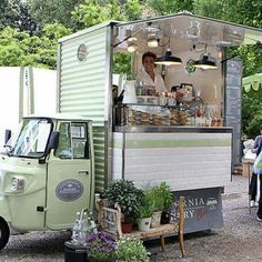Ape Conversions - Piaggio Ape sales and conversions by Tukxi ,Street food trucks, shop display, vending & Coffee carts 01297 32846 international 0044 1297 32846 Mobile Bar, Mobile Shop, Food Trucks, Coffee Carts, Coffee Truck, Coffee Mugs, Foodtrucks Ideas, Mein Café, Food Vans