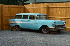 Chevrolet: Bel Air/150/210 Wagon 1957 chevy bel air wagon ready to be restored very solid car all original
