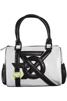 Fox Womens Juxtapose Duffle Bag White
