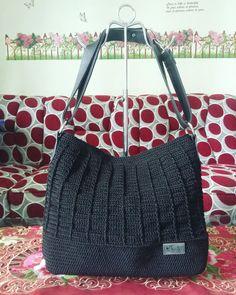 Crochet bag.. sweet black