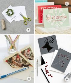Roundup: 11 DIY Greeting Card Ideas for the Holidays » Curbly   DIY Design Community