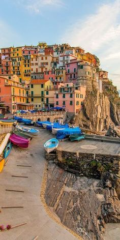 Cinque Terre, the rugged and colorful village! #cinqueterre #travel #italy