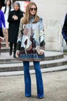 The Olivia Palermo Lookbook : Olivia Palermo at Paris Fashion Week - March 11, 2015
