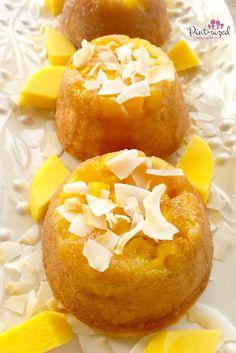mango upside down cake recipe