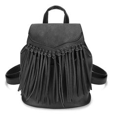 Women PU Leather Tassel Travel Satchel Shoulder Backpack Student School Bag  Worldwide delivery. Original best quality product for 70% of it's real price. Hurry up, buying it is extra profitable, because we have good production sources. 1 day products dispatch from warehouse. Fast &...