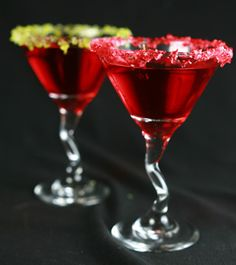 Jolly Rancher Martinis