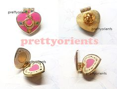 Sailor Moon Enamel Pin Cosmic heart style can be by PrettyOrients