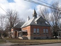 Adelaide Avenue School Canandaigua, New York U.S. National Register of Historic Places Built 1890