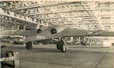 Horten Ho229 FACTORY, also check out the aircraft in the backround(left) a Heinkel HE-162 Volksjager!