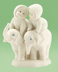 Snowbabies | Snowbabies Snowbabies Tail of Two Trunks, Elephant