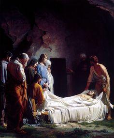 Burial of Christ CarlBloch - Carl Bloch - Wikipedia, the free encyclopediaThe Burial of Christ - The Life of Christ: Painted by Carl Heinrich Bloch (1834–90) https://www.lds.org/ensign/1991/01/the-life-of-christ-painted-by-carl-heinrich-bloch-183490?lang=eng