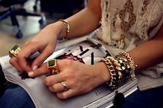 Accessories mania. #jewelryinspiration