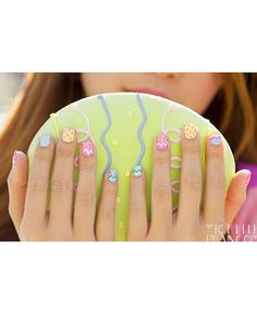 Hop to it: 12 of the best Easter inspired nail art
