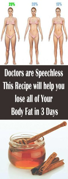Doctors are Speechless ,This Recipe will help you lose all of Your Body Fat in 3 Days – Let's Tallk