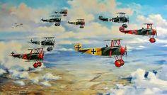 Manfred von Richthofen's JG 1 - Flying Circus                                                                                                                                                                                 More