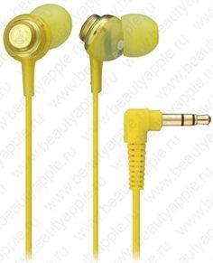 Купить Audio-Technica ATH-CKL202 YL (желтый), доставка по Москве и всей РФ.