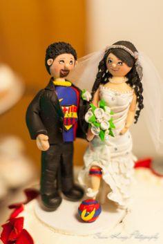 Wedding Cake Soccer Topper
