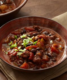 Slow Cooker Soup, Slow Cooker Recipes, Cooking Recipes, Cooking Chili, Cooking Beef, Crockpot Meals, Cooking Tips, No Bean Chili, Bean Chilli