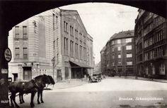 """Wrocław -  Theater """"Metropol""""/Schauspielhaus, obecnie Teatr Polski przy ul. Gabrieli Zapolskiej (1928-1935)"""