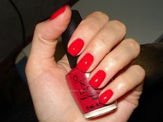 All tome favorite color!!! OPI - Dutch Tulips