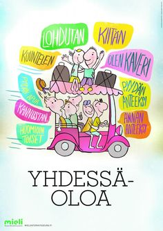 Yhdessäoloa | Suomen Mielenterveysseura Finnish Language, Future Jobs, Early Childhood Education, School Holidays, School Classroom, Social Skills, Life Skills, Special Education, Learning Activities