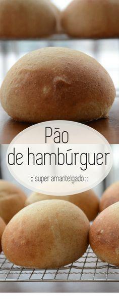 Pão de hamburguer caseiro, esta receita é para você que prepara seu hamburguer caseiro, com aquele molho incrível, não compre o pão, torne seu lanche ainda mais incrível com este pão delicioso! #receita