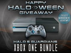 Xbox One Halo 5 Guardians Bundle #Giveaway. ENDS TODAY 10/26. US. via @pm_academy #win