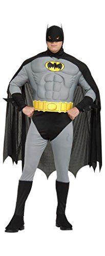 Batman+costumes Products : Rubie's Costume Co - Men's Batman Muscle Costume