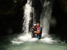 Tara Canyon rafting tours in Montenegro include a stop at this waterfall. The water is only 4 degrees so photo stops are usually very quick!