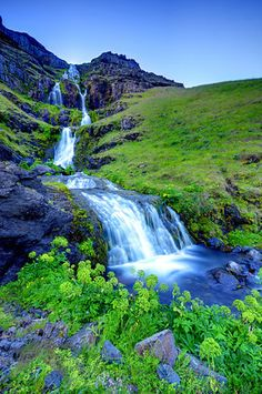 Icelandic waterfall - Ryan Askren