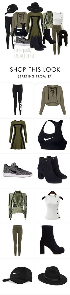 """""""Unequally BEAUTIFUL"""" by klb12-love on Polyvore featuring NIKE, Monsoon, J Brand, Miu Miu, Lack of Color and MANGO"""
