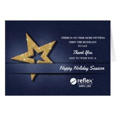 Snowflakes corporate christmas card corporateoffice christmas business holiday thank you cards template flashek Image collections