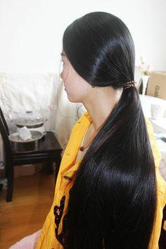 Long Ponytail Hairstyles, Long Hair Ponytail, Indian Hairstyles, Pretty Hairstyles, Girl Hairstyles, Bun Hair, Wavy Hair, Indian Hair Cuts, Long Indian Hair