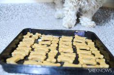 For my fur babies - Homemade peanut butter pup treats