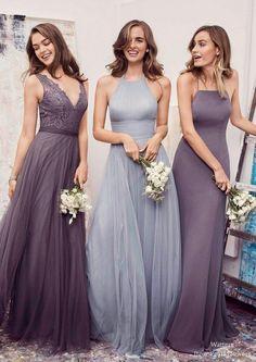 Watter Bridesmaid Dresses Collection | Deer Pearl Flowers