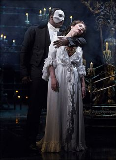 Sierra Boggess and Norm Lewis, Broadway 2014 Photo by Matthew Murphy