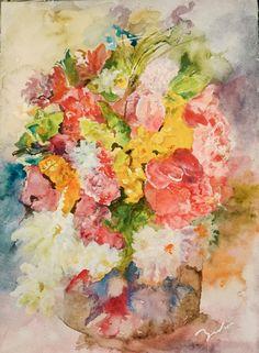 Watercolor painting   水彩画