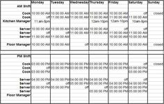 How To Build A Restaurant Employee Schedule