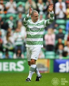 McStay's Maestros v Rio's All-Stars - The Maestro himself, Paul McStay thanks the support on behalf of the Celtic FC Foundation.