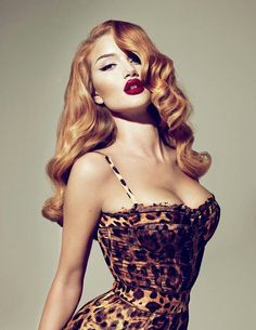 Embrace your classic curves, full lips, and wild hair.  Carry yourself with power and confidence