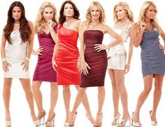 Makeup secrets of The Real Housewives of Beverly Hills -- lashes, highlighter, and MakeUp Forever HD base (love that stuff)