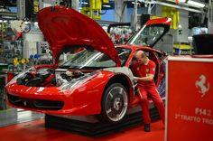Ferrari Car Factory 2015