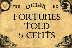 the fortune teller theme