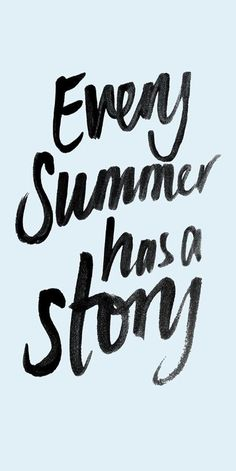 Every summer has a story - how will you write yours?
