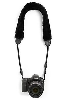 Bryan Boy for Adrienne Landau Fur Camera Strap